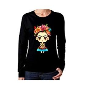 Frida cartoon T-shirt